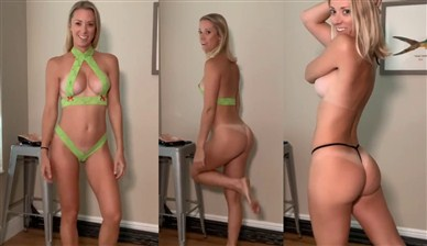 Vicky Stark Lace Lingerie Try On Nude Video | ProThots.com